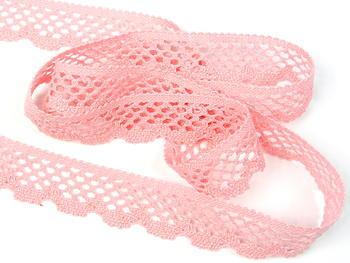 Bobbin lace No. 75592 pink | 30 m - 1