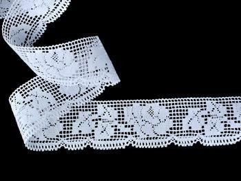 Bobbin lace No. 75606 white | 30 m - 1