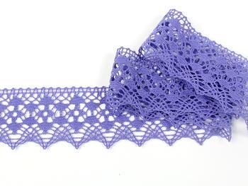 Paličkovaná krajka vzor 75625 purpurová II. | 30 m - 1