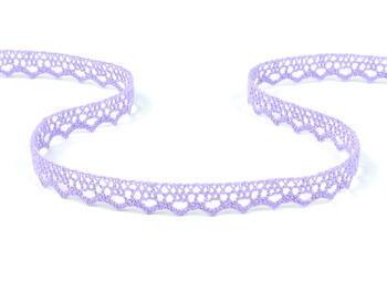 Paličkovaná krajka vzor 75633 purpurová III. | 30 m - 1