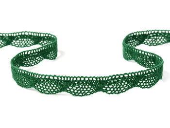 Bobbin lace No. 75629 dark green | 30 m - 1