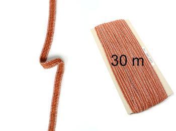 Fine rubber band  75643 brown | 30 m - 1