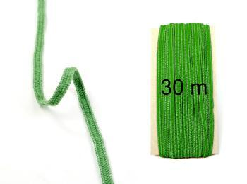 Fine rubber band  75643 green | 30 m - 1