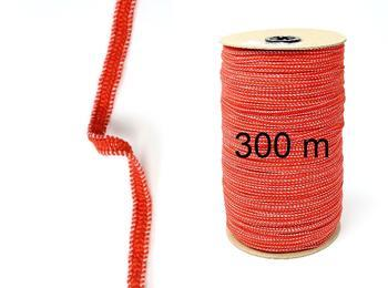 Fine rubber band  75643 red | 300 m - 1