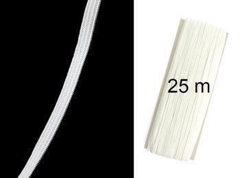 Pletená pruženka roušková 75644 bílá | 25 m - 1