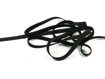 Fine rubber band  75644 black | 25 m - 1