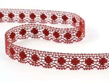 Bobbin lace No. 81014 red bilberry | 30 m - 1