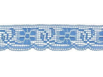 Paličkovaná krajka vzor 81035 blankytně modrá   30 m