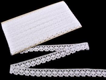 Bobbin lace No. 81041 white | 30 m - 1
