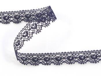 Bobbin lace No. 81128 dark blue | 30 m - 1