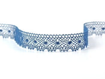 Bobbin lace No. 81215 ocean blue | 30 m - 1
