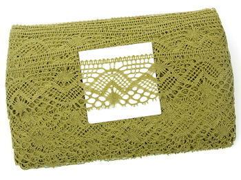 Bobbin lace No. 81294 khaki | 30 m - 1