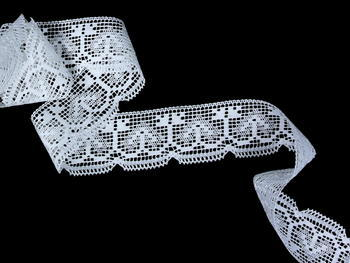 Bobbin lace No. 81317 white | 30 m - 1