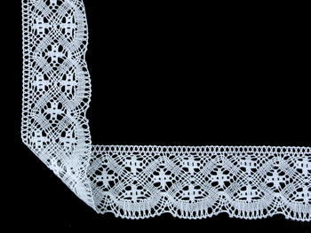 Bobbin lace No. 81909 white | 30 m - 1