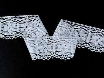 Bobbin lace No. 82109 white | 30 m - 1
