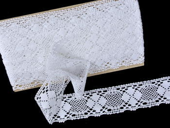 Bobbin lace No. 82116 white | 30 m - 1