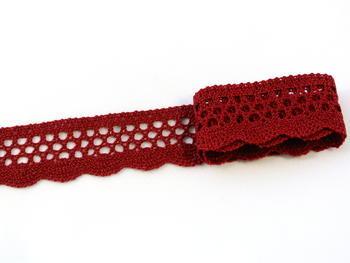 Bobbin lace No. 82121 red bilberry   30 m