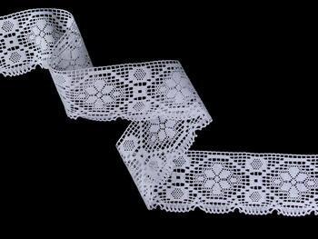 Bobbin lace No. 82147 white | 30 m - 1