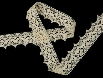 Bobbin lace No. 82158 ecru | 30 m - 1