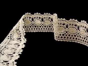 Bobbin lace No. 82171 ecru   30 m - 1