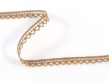 Bobbin lace No. 82195 dark beige | 30 m - 1