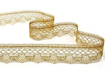 Bobbin lace No. 82216 gold | 30 m - 1