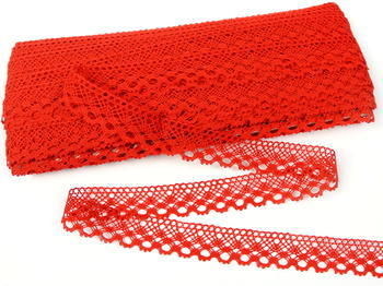 Bobbin lace No. 82222 red | 30 m - 1