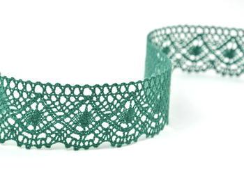 Bobbin lace No. 82231 dark green | 30 m - 1