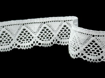 Bobbin lace No. 82283 white | 30 m - 1
