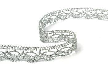 Bobbin lace No. 82307 silver | 30 m - 1