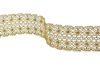 Bobbin lace No.  82309 gold antique | 30 m - 1