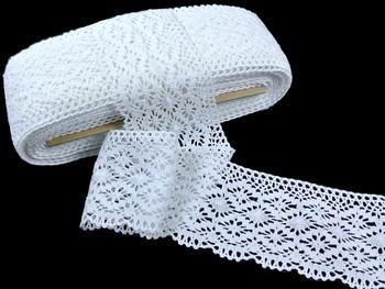 Bobbin lace No.82336 white | 30 m - 1