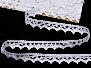 Bobbin lace No. 82352 white | 30 m - 1