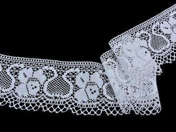 Bobbin lace No. 88018 white | 30 m - 1