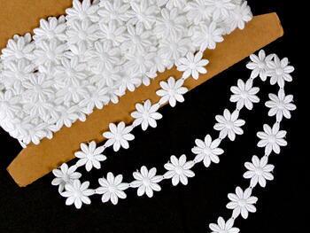 Vzdušná krajka vzor 66003 bílá | 9,2 m - 2