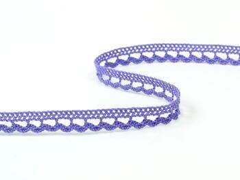 Paličkovaná krajka vzor 73012 purpurová II. | 30 m - 2