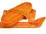 Paličkovaná vsadka 75038 bavlněná, šířka52mm, sytě oranžová - 2/2