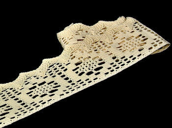 Bobbin lace No. 75059 natural | 30 m - 2