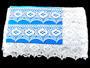 Paličkovaná krajka 75068 bavlněná, šířka52mm, bílá - 2/4