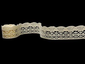 Bobbin lace No.75077 ecru | 30 m - 2
