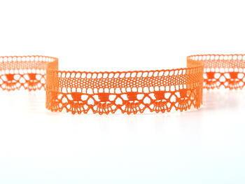 Paličkovaná krajka vzor 75079 sytě oranžová | 30 m - 2