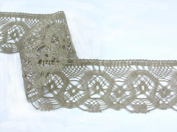 Bobbin lace No. 75096 natural linen | 30 m - 2