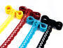 Bobbin lace No. 75428/75099 turquoise | 30 m - 2/2