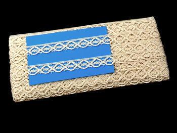 Bobbin lace No. 75124 ecru | 30 m - 2