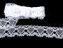 Bobbin lace No. 75133 white | 30 m - 2/4