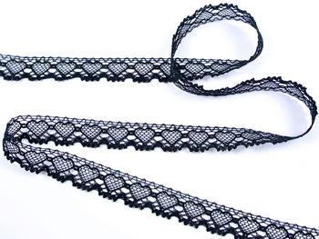 Bobbin lace No. 75133 black | 30 m - 2