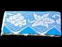 Cotton bobbin lace 75136, width97 mm, white - 2/5