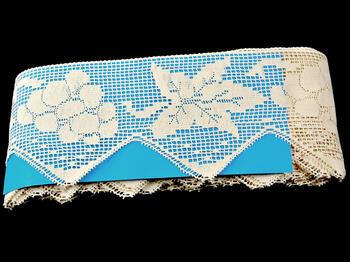 Bobbin lace No. 75136 ecru | 30 m - 2