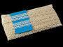 Cotton bobbin lace 75173, width 26 mm, ecru - 2/4