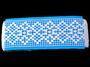 Paličkovaná vsadka 75180 bavlněná, šířka81mm, bílá - 2/4